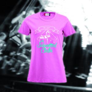 Damen rosa, erhältlich in den Grössen S - XXL